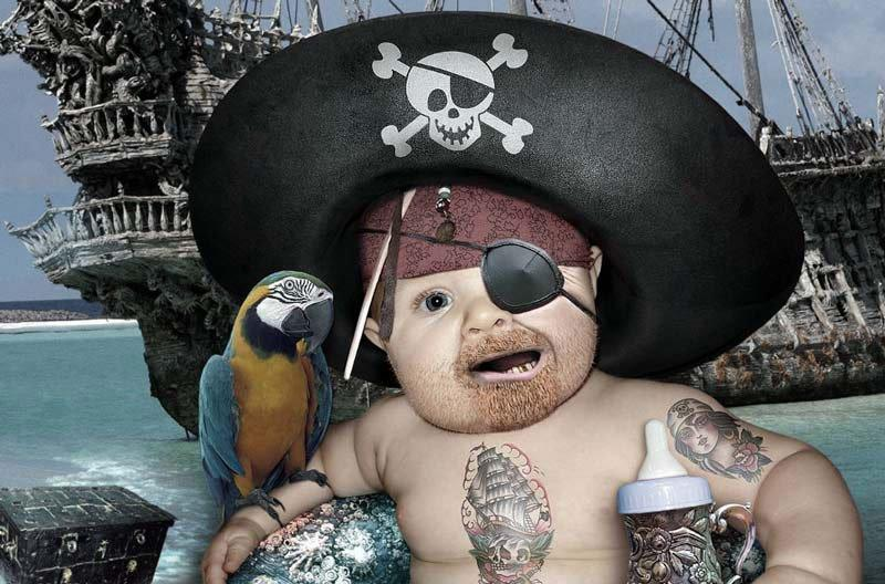Baby-Pirate