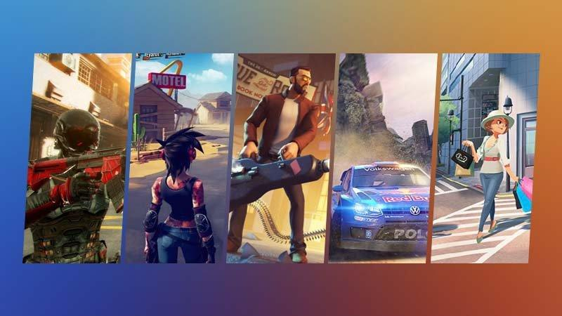 Asphalt 9, Modern Combat Versus, Dungeon Hunter 6, Gangstar New Orleans