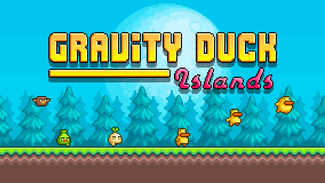 Скачать Gravity Duck Islands ios android