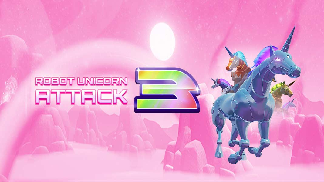 Скачать Robot Unicorn Attack 3 на Android iOS