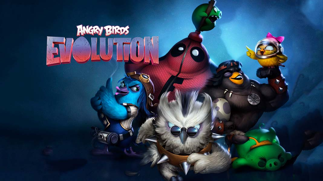Скачать Angry Birds Evolution на Android iOS
