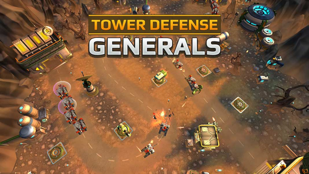 Скачать Tower Defense Generals TD на Android iOS