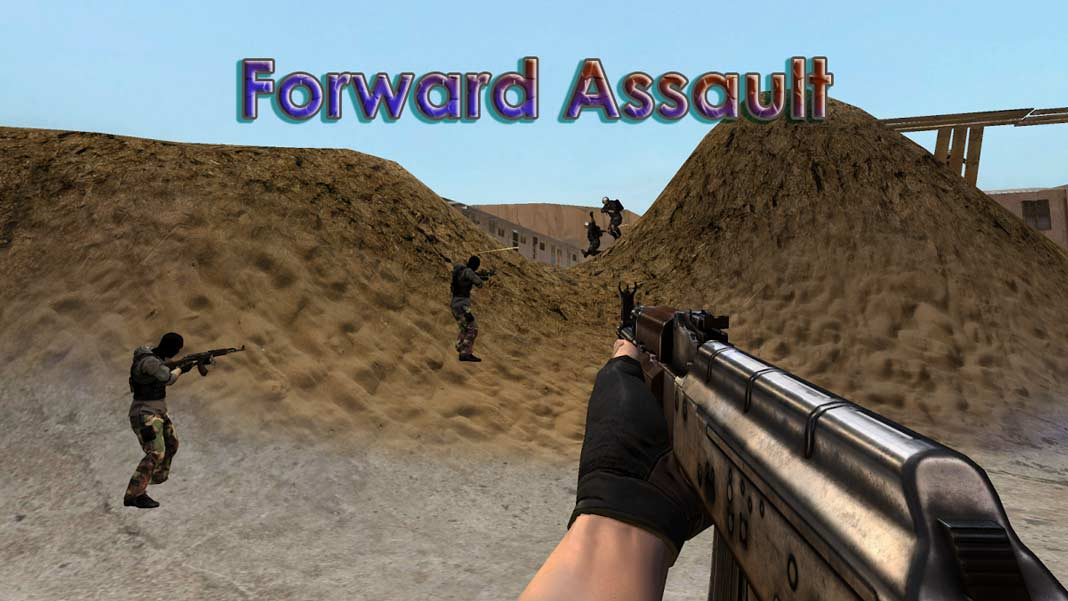 Скачать Forward Assault на Android iOS