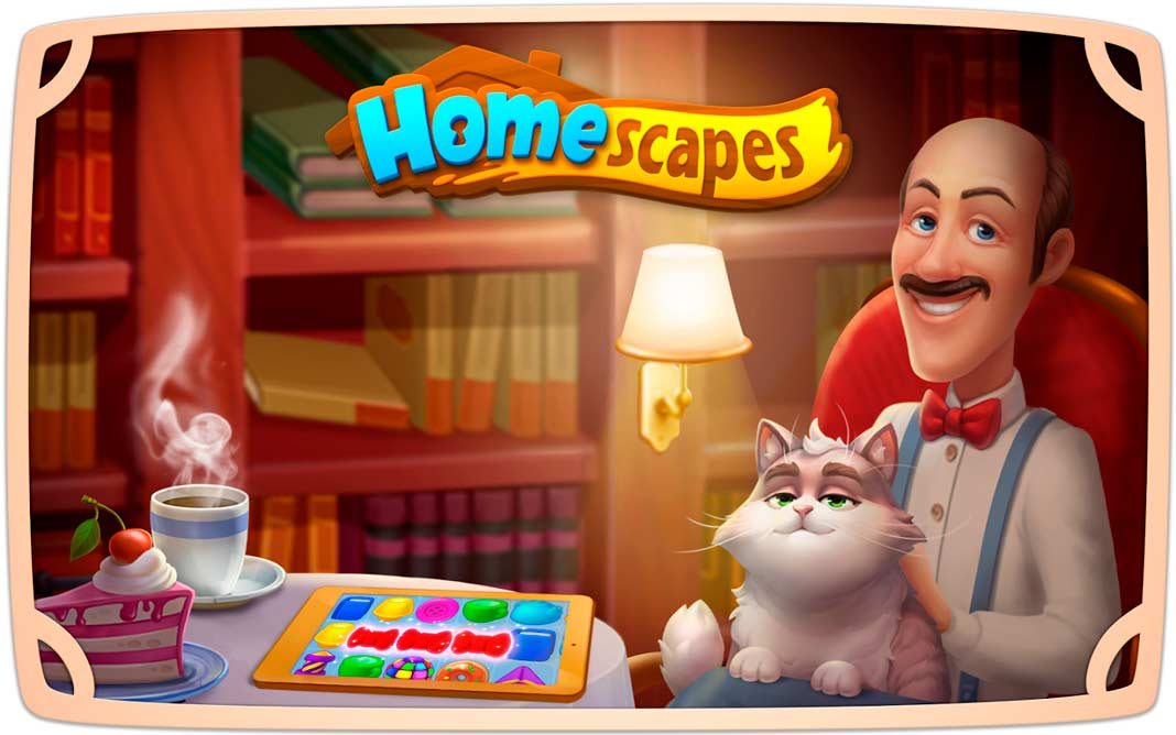 Скачать Homescapes на Android iOS