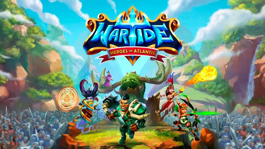 Скачать Wartide: Heroes of Atlantis на Android iOS