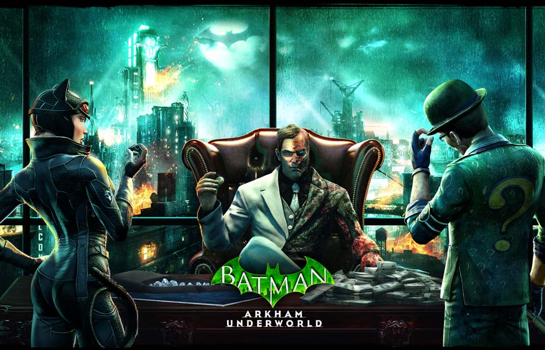 скачать Batman: Arkham Underworld
