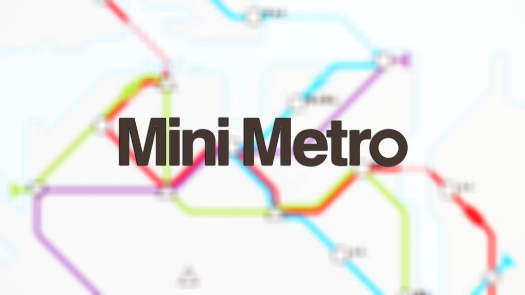 Обзор mini metro
