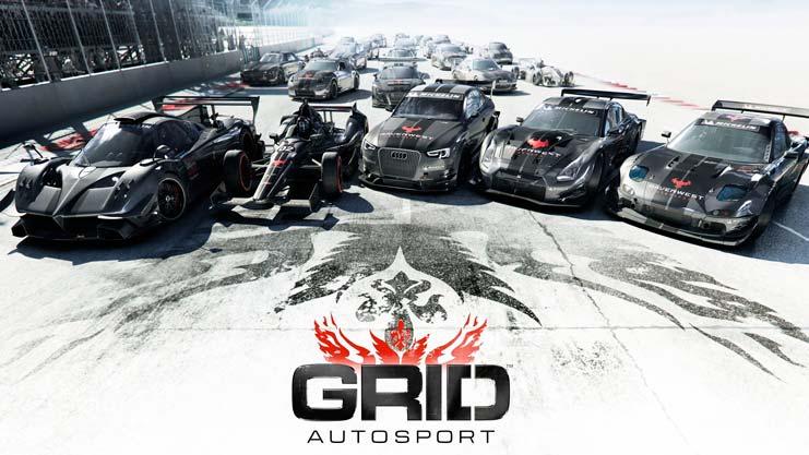 GRID Autosport на iOS, GRID Autosport на iphone, GRID Autosport на ipad