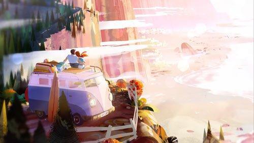 Old Man's Journey геймплей