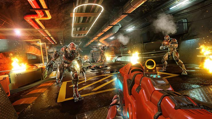 Геймплей Shadowgun Legends