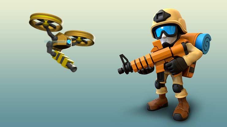софт-запуск Blitz Brigade: Rival Tactics