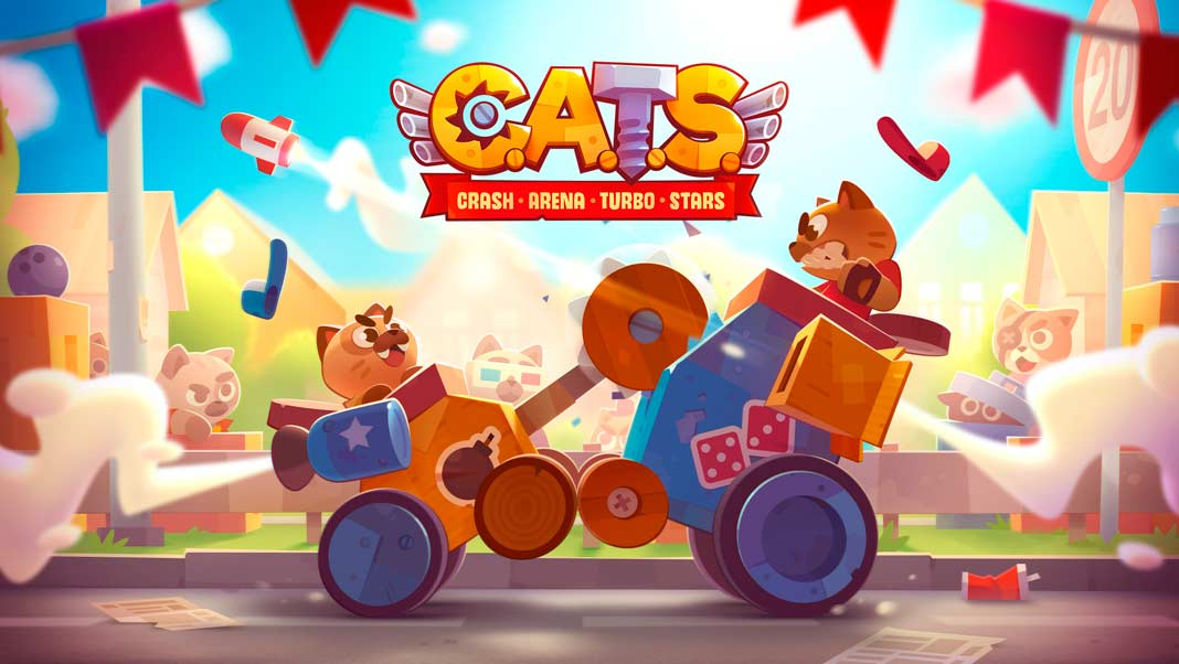 Скачать CATS: Crash Arena Turbo Stars на Android ios