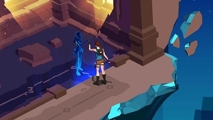 Дополнение The Mirror of Spirits для Lara Croft GO