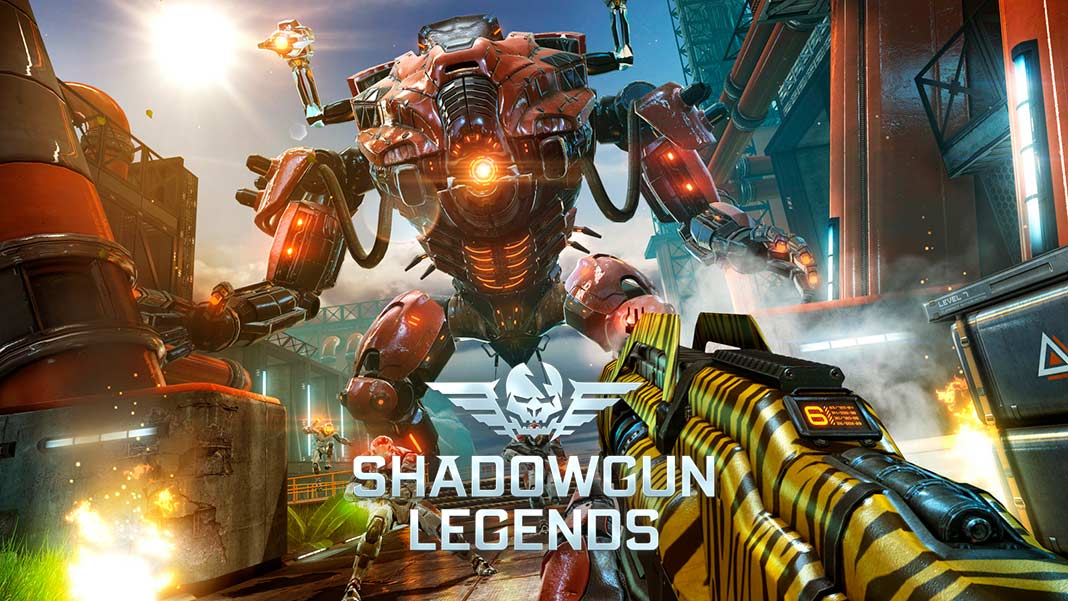 Скчать Shadowgun Legends на Android iOS